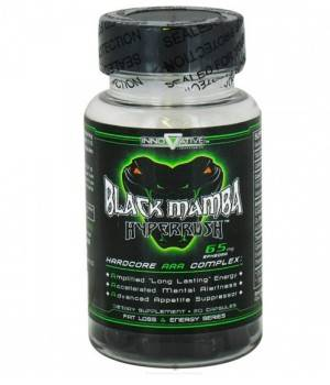 Комплексные жиросжигатели Innovative Labs Black Mamba Hyperrush
