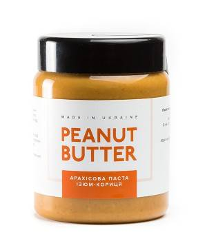 Арахисовая паста Peanut Butter Арахисовая паста Изюм-корица
