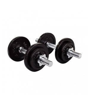 Гантели Rn-sport Гантели 2x10 кг металлические (цена за пару)