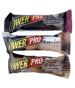 Батончики Power Pro Протеиновый батончик Femine 36%