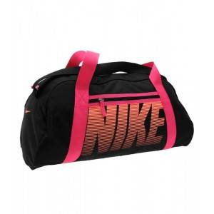 Nike Gym Club Grip Ladies Gymbag (черно-розовая)