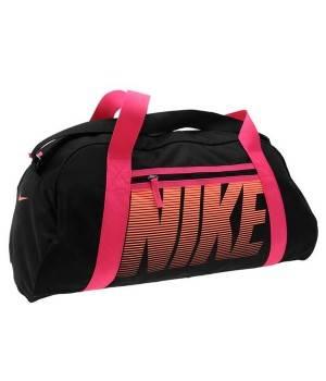 Сумки Nike Nike Gym Club Grip Ladies (черно-розовая)