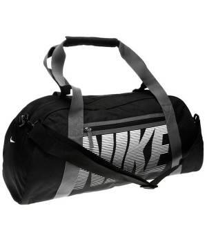 Сумки Nike Nike Gym Club Grip Ladies (черно-серая)