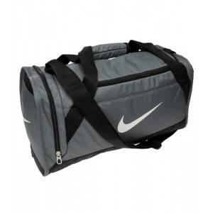 Nike Brasilia XS Grip Duffle Bag (серая)