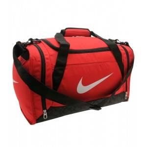 Nike Brasilia XS Grip Duffle Bag (красная)