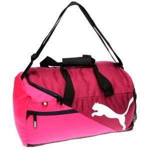 Puma Fundamentals Holdall Mens (розовая)
