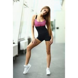 Спортивный комбинезон Pink Net Short
