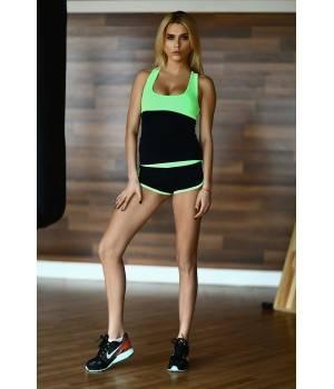 Комплекты Cпортивная одежда D4fs Спортивный комплект Basic Green