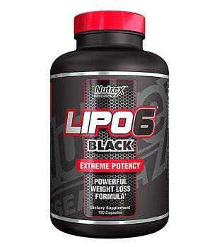 Комплексные жиросжигатели Nutrex Lipo 6 black