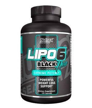 Комплексные жиросжигатели Nutrex Lipo 6 black hers