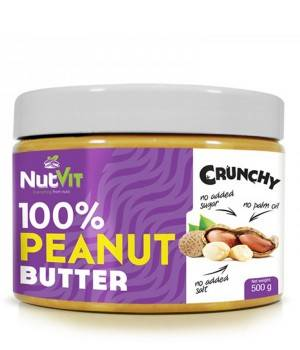 Арахисовая паста OstroVit Арахисовая паста NutVit Crunchy