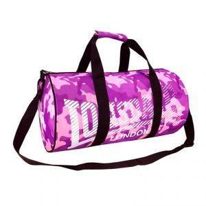 Lonsdale Barrel Bag (Милитари Розовый/Фиолетовый)