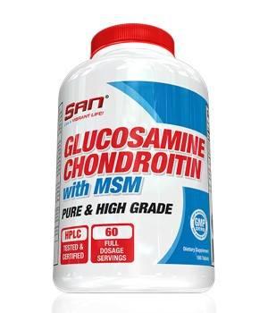 Суставы и связки San Glucosamine Chondroitin MSM San