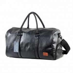 Спортивная сумка модель 11-1 (Черная)