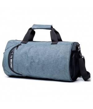 Сумки Young and Brave Спортивная сумка модель 12-1 (Серая)