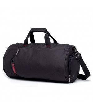 Сумки Young and Brave Спортивная сумка модель 13-1 (Черная)