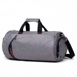 Спортивная сумка модель 13-2 (Серая)