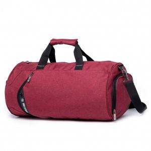 Спортивная сумка модель 13-1 (Черная)