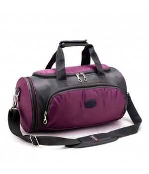 Сумки Young and Brave Спортивная сумка модель 17-1 (Фиолетовая)