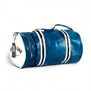 Спортивная сумка модель 9-1 (Бордово/Белая)