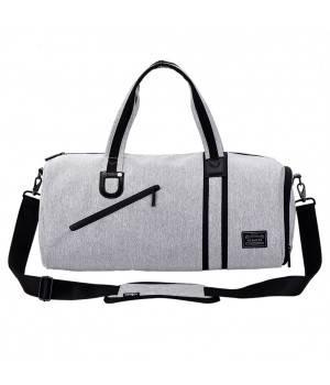 Сумки Young and Brave Спортивная сумка модель 4-1 (Серая)