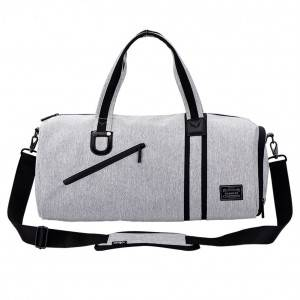 Спортивная сумка модель 4-1 (Серая)