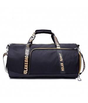 Сумки Young and Brave Спортивная сумка модель 14-1 (Черная)
