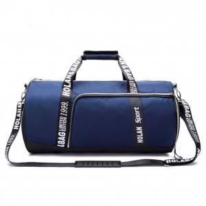 Спортивная сумка модель 14-1 (Черная)
