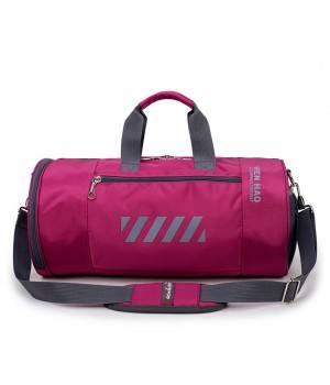 Сумки Young and Brave Спортивная сумка модель 15-1 (Фиолетовая)
