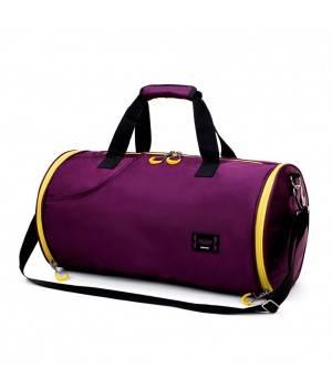 Сумки Спортивная сумка модель 18-1 (Фиолетовая)