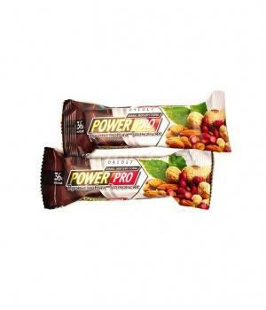 Батончики Power Pro Протеиновые батончики йогурт-орех 36%