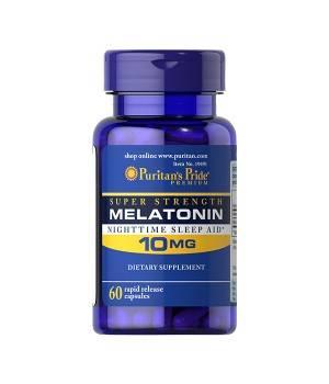 Мелатонин и Gaba (для сна) Puritan's Pride Melatonin 10 мг