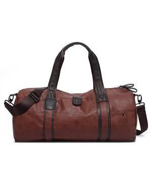 Сумки Young and Brave Спортивная сумка модель 21-2 (Коричневая)