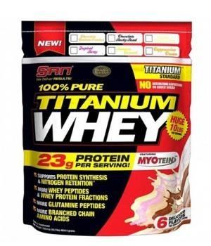 Протеин San 100% Pure Titanium Whey - уценка