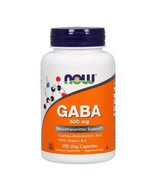 Мелатонин и Gaba (для сна) Now Foods GABA