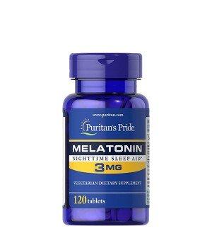 Мелатонин и Gaba (для сна) Puritan's Pride Melatonin 3 мг