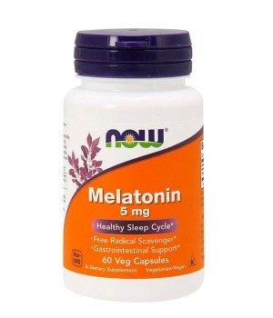 Мелатонин и Gaba (для сна) Now Foods Melatonin 5 Mg