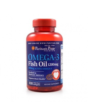 Омега 3 Puritan's Pride Omega 3 - 1200 мг