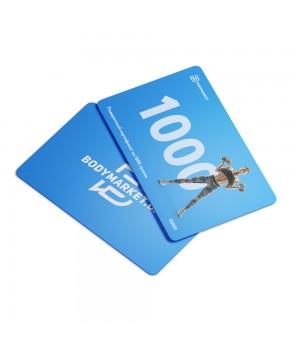 Подарочные карты Bodymarket Подарочная карта (1000 грн)