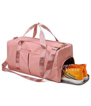 Сумки Young and Brave Спортивная сумка модель 120-1 (Розовая)