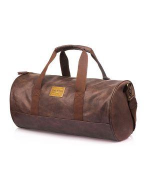 Сумки Young and Brave Спортивная сумка модель 141-1 (Коричневая)