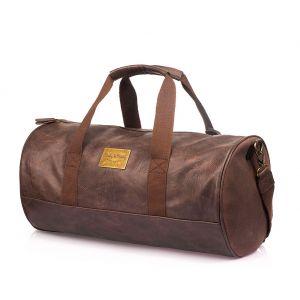 Спортивная сумка модель 141-1 (Коричневая)