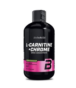 Л-карнитин BioTech L-Carnitine + chrome