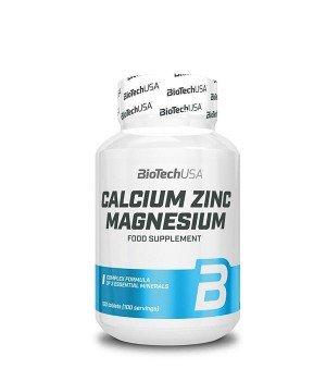 Витамины и минералы BioTech Calcium Zinc Magnesium
