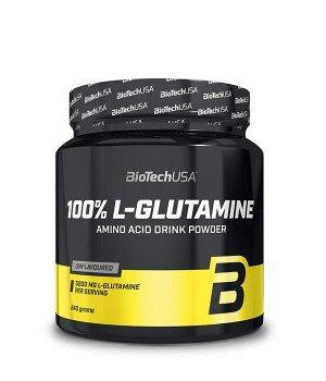 Глютамин BioTech L-Glutamine 100%
