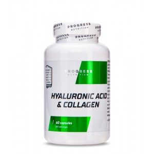 Гиалуроновая кислота + Коллаген Progress Nutritin