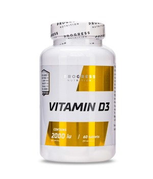 Витамины и минералы Progress Nutrition Vitamin D3 Progress Nutrition