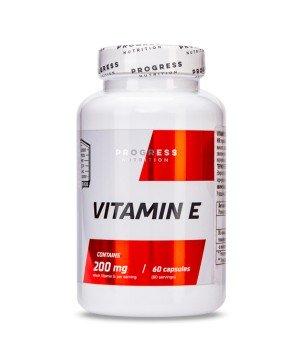 Витамины и минералы Progress Nutrition Vitamin E Progress Nutrition