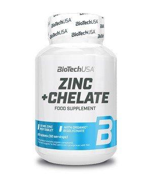 Витамины и минералы BioTech Zinc + Chelate
