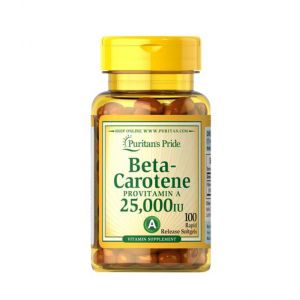 Beta-Carotene 25000 IU Puritan's Pride